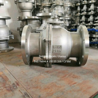 Ball Valve Ansi 150 Stainless SS 316 Flange 2 inch / DN 50