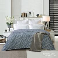 King Rabbit Bed Cover Ukuran Double 230x230 cm Bambu Carrara Grey