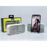 Speaker Bluetooth K-10 Digital Clock Wireless Speaker KIMISO K10 K 10
