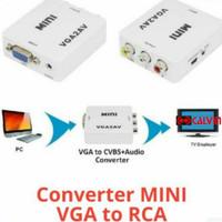 Converter VGA to AV RCA