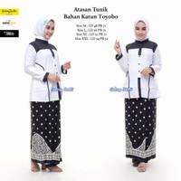 Setelan Santri Putri / Baju santri / Baju Pondok /Kain Toyobo/new