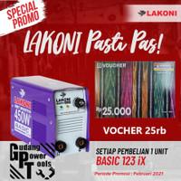 Mesin Las Trafo Las Inverter Lakoni Basic 123iX