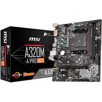 Motherboard AMD MSI A320M A Pro Max