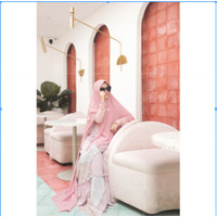 Dress Only Defect Louisa By TRZ Her / Gamis Syari Premium / Gamis Se - Dress Only