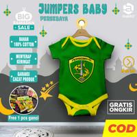 Baju Anak Setelan Keren Kece Jumper Jumpsuit Bayi Karakter PERSEBAYA