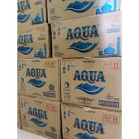 Aqua gelas 220ml 1 dus 48 pcs 220 ml Aqua cup