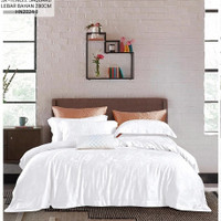 quilt cover/sarung bedcover bahan kingkoil tencel