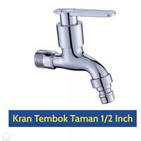 """Kran Air Tembok Taman 1/2 Inch Keran Dinding 1/2"""" / Engkol 1029K"""