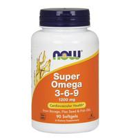Now Foods Super Omega 369 3-6-9 1200 mg 180 Soft cardiovascular health
