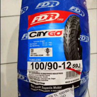 Ban Luar FDR 100 - 90 - 12 TL - Honda Scoopy Ring 12 Depan Scopi Tubel
