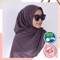 Luxury Hijab Segiempat Voal Basic By Reyscarf- Bahan Voal Premium Adem