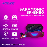 Saramonic SR-BH60 True Wireless Gaming Earbuds