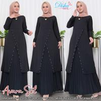 Baju Setelan Wanita Muslim Rok dan Tunik Avara Set