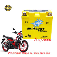 Aki Motor Honda Sonic 150 R Motobatt MTZ6S