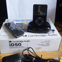Ipod Classic 80GB+ Dock Cambridge Audio iD50
