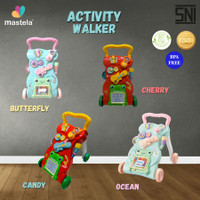 MASTELA Baby Walker - Activity / Push Walker Music, Play and Learn