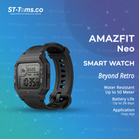 Amazfit Neo Smartwatch Amazfit Waterproof 5ATM For Android & iOS