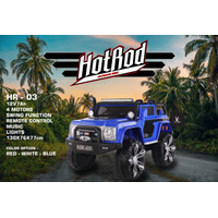 Mainan Mobil Aki Anak Jeep Hotrod HR 03