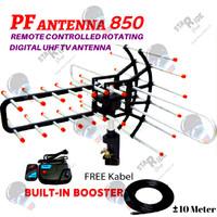 Anten Antena Antenna Remot Remote TV Luar Outdoor PF850 Booster Kabel