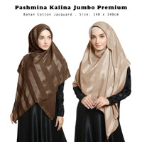 Kerudung Kalina Square Part III Hijab Segiempat Syari Jumbo Premium
