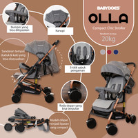 Stroller Babydoes Hola / Kereta Dorong Bayi