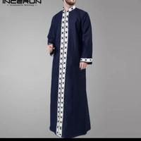 baju koko india kemeja kurta muslim jubah / qurta kaftan robe men