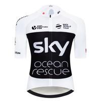 Baju Jersey Cycling Sepeda Import SKY Bahan Premium