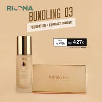 Bundling Lumecolors Foundation dan Compact Powder