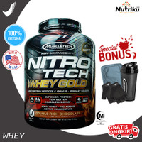 Muscletech Nitrotech Whey Gold 6LB BPOM