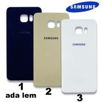 Tutup Belakang Casing Backdoor Back Door Cover Samsung S6 Edge Plus