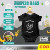 Baju bayi laki 6 12 bulan baru lahir baby newborn karakter MOTOR HEAD