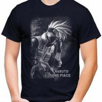 Kaos Pria NARUTO T-shirt Distro Baju Pria/Oblong Cowok Keren