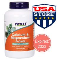 Now Foods Calcium Magnesium D3 Zinc Food vitamin vit D-3 tulang