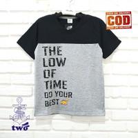 T-SHIRT ANAK COWOK UMUR 1-14 TAHUN || T-SHIRT THE LOW OF TIME