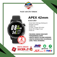 APEX COROS MULTISPORT TRIATHLON 42MM BLACK GPS WATCH