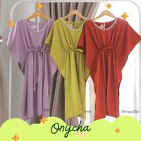 Onycha Kaftan Dress Anak by Ichigo Baju Lebaran Akikah Pesta Mewah Nya