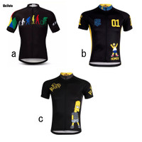 Baju Jersey Cycling Sepeda Import WULITOTO The Simpsons Bahan Premium