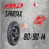 BAN LUAR FDR 80/90-14 SPARTAX TUBETYPE
