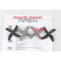 Propeller set mini drone APEX GD65A Baling-Baling 1 set isi 4 pcs