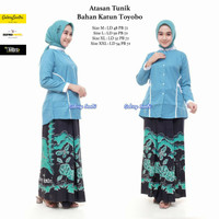 Setelan Santri Putri / Setelan Baju santri / Baju Pondok /Murah