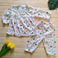 setelan baju bayi perempuan usia 3 - 6 bulan