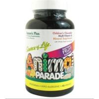 Natures Plus Animal Parade Kids Multi Vitamin Anak 45 BPOM