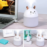 Humidifier Aroma terapi Rabbit Pelembab Udara USB Kamar / Mobil A11