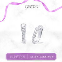 Anting Emas Batu Berlian Eliza Earrings Diamond Pavilion - Earrings