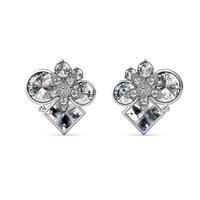 Myriad Belle Earrings - Anting Crystal Premium Luvea by Her Jewellery