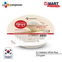 CJ Hetbahn Cooked White Rice - Nasi Putih Instan Korea 210g