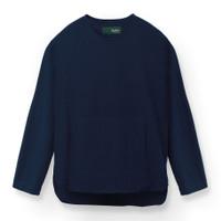 Duha Muslimwear - Baju Koko - Kahlel Linen Shirt Navy