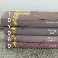 HijabersTex 1/2 Meter Kain TOYOBO FODU Original (Color L~Z)