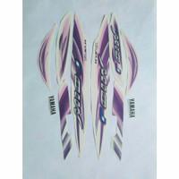 Striping Stricker list Yamaha Mio J sporty 2012 putih