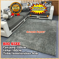 Karpet Bulu Empuk Tebal 5cm uk200x160 Big Size / Surpet Best Seller